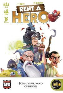 Rent a Hero (ENG)-card game-Multizone: Comics And Games | Multizone: Comics And Games