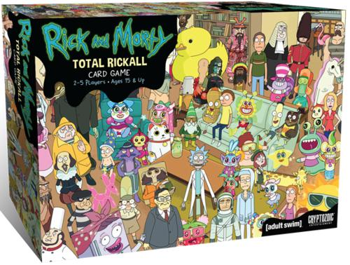 Rick and Morty: Total Rickall Card Game (ENG)-card game-Multizone: Comics And Games | Multizone: Comics And Games