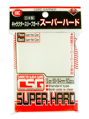 KMC Super Hard Sleeves - Card Barrier | Multizone: Comics And Games