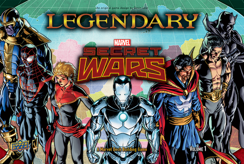 Legendary: Secret Wars (ENG)-Board Game-Multizone: Comics And Games