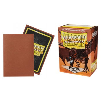 Matte Copper Dragon Shield Sleeves (100ct)-Dragon Shield-Multizone: Comics And Games | Multizone: Comics And Games