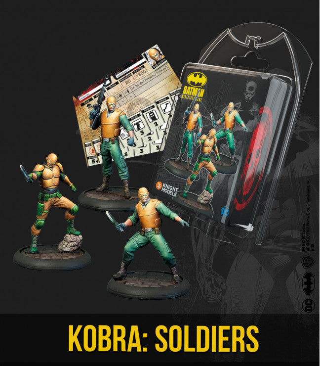 KOBRA SOLDIERS-Miniatures|Figurines-Multizone: Comics And Games | Multizone: Comics And Games