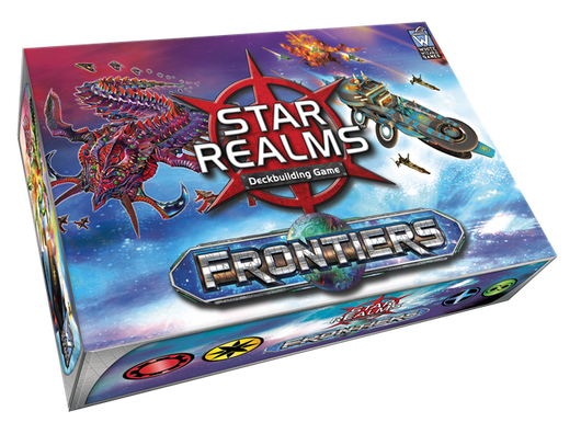 Star Realms Frontiers-card game-Multizone: Comics And Games