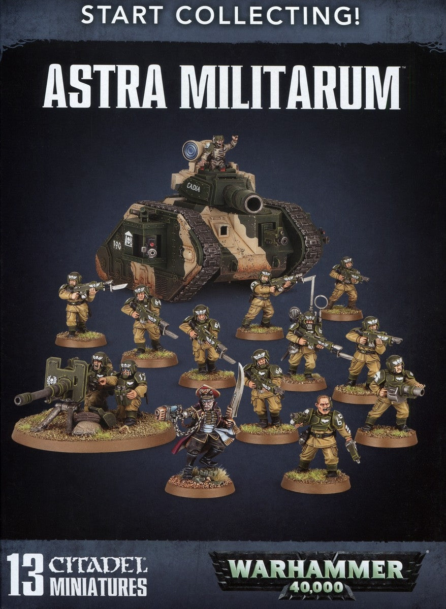 Start Collecting Astra Militarum | Multizone: Comics And Games