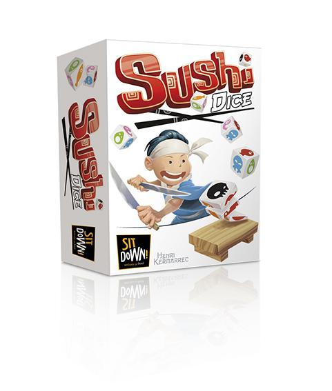 Sushi Dice (ENG)-dice games-Multizone: Comics And Games | Multizone: Comics And Games