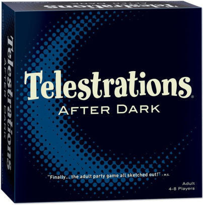 Telestratrions After dark (ENG)-Board game-Multizone: Comics And Games | Multizone: Comics And Games