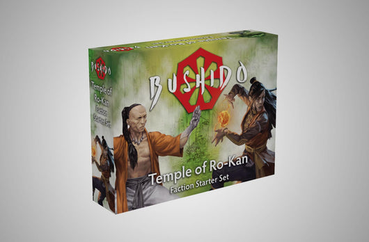 The Temple of Roh-Kan starter set-Bushido-Multizone: Comics And Games