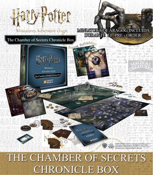 THE CHAMBER OF SECRETS: CHRONICLE EXPANSION-Miniatures|Figurines-Multizone: Comics And Games