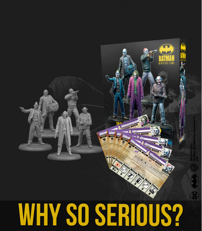 THE JOKER: WHY SO SERIOUS?-Batman Miniature Game-Multizone: Comics And Games | Multizone: Comics And Games