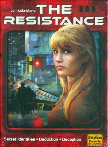 The Resistance (ENG)-card game-Multizone: Comics And Games | Multizone: Comics And Games