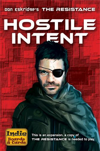 The Resistance: Hostile Intent (ENG)-card game-Multizone: Comics And Games