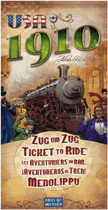 Ticket to Ride: USA 1910 (FR/ENG)-Board game-Multizone: Comics And Games