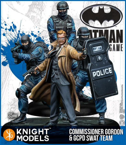 Commisioner Gordon & GCPD Swat team