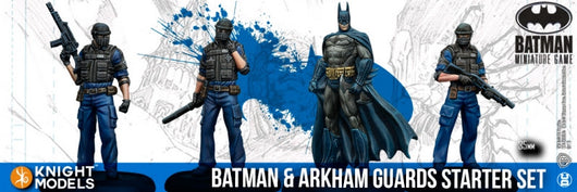 BATMAN & ARKHAM GUARDS-Batman Miniature Game-Multizone: Comics And Games
