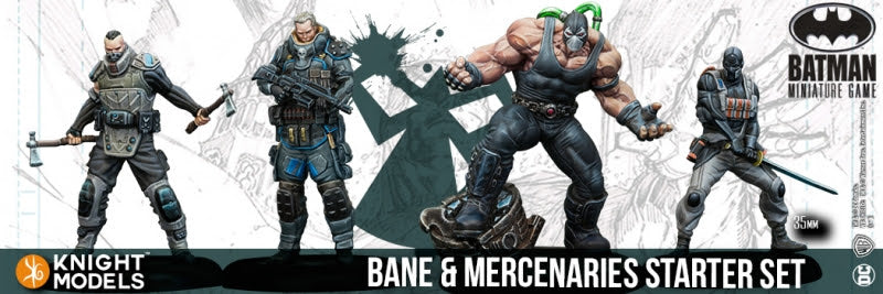 BANE & MERCENARIES STARTER SET-Batman Miniature Game-Multizone: Comics And Games | Multizone: Comics And Games