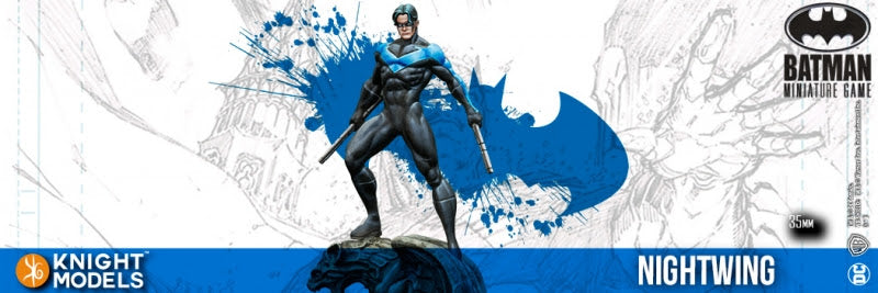 Nightwing (resin)-Batman Miniature Game-Multizone: Comics And Games | Multizone: Comics And Games