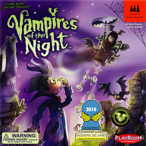 Vampires of the Night (ENG)-Board game-Multizone: Comics And Games | Multizone: Comics And Games
