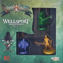 Rum & Bones: Wellsport Brotherhood Mix-Board game-Multizone: Comics And Games | Multizone: Comics And Games