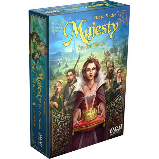 Majesty - For the realm-Board game-Multizone: Comics And Games | Multizone: Comics And Games