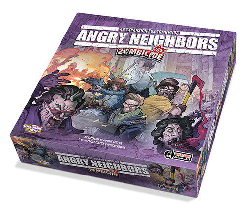 Zombicide: Angry Neighbors expansion (ENG)-Board game-Multizone: Comics And Games | Multizone: Comics And Games