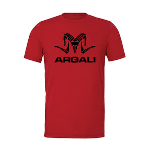 Argali Pinnacle Tee Crimson