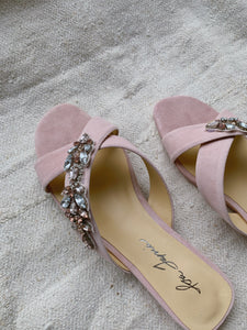 Natalia Beverly Hills Pink with Crystals