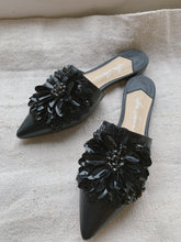 Caetano Black with Crystals