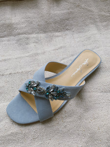 Natalia Blue with Crystals
