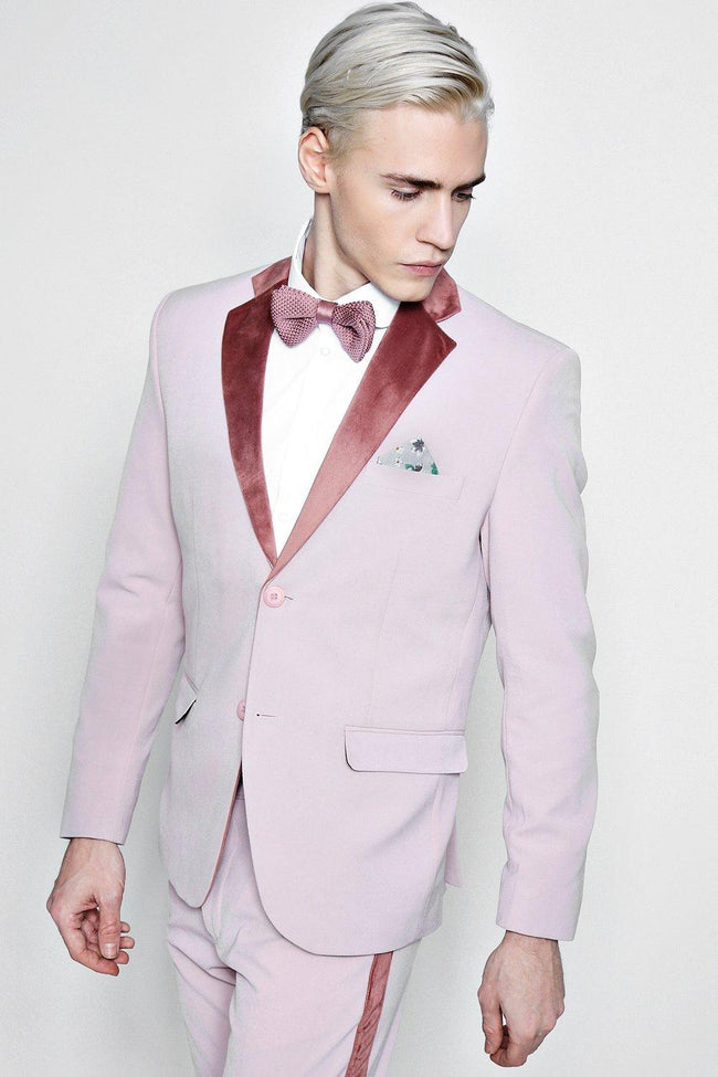 VELVET TAPERED SUIT