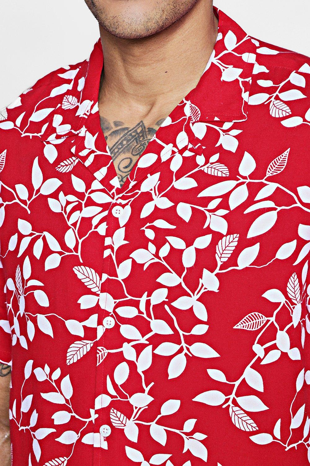FLORAL SUBLIMATION TRUCKER SHIRT
