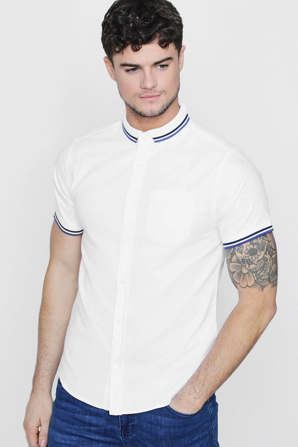 RIBBED COLLAR POLO - The Executive Line
