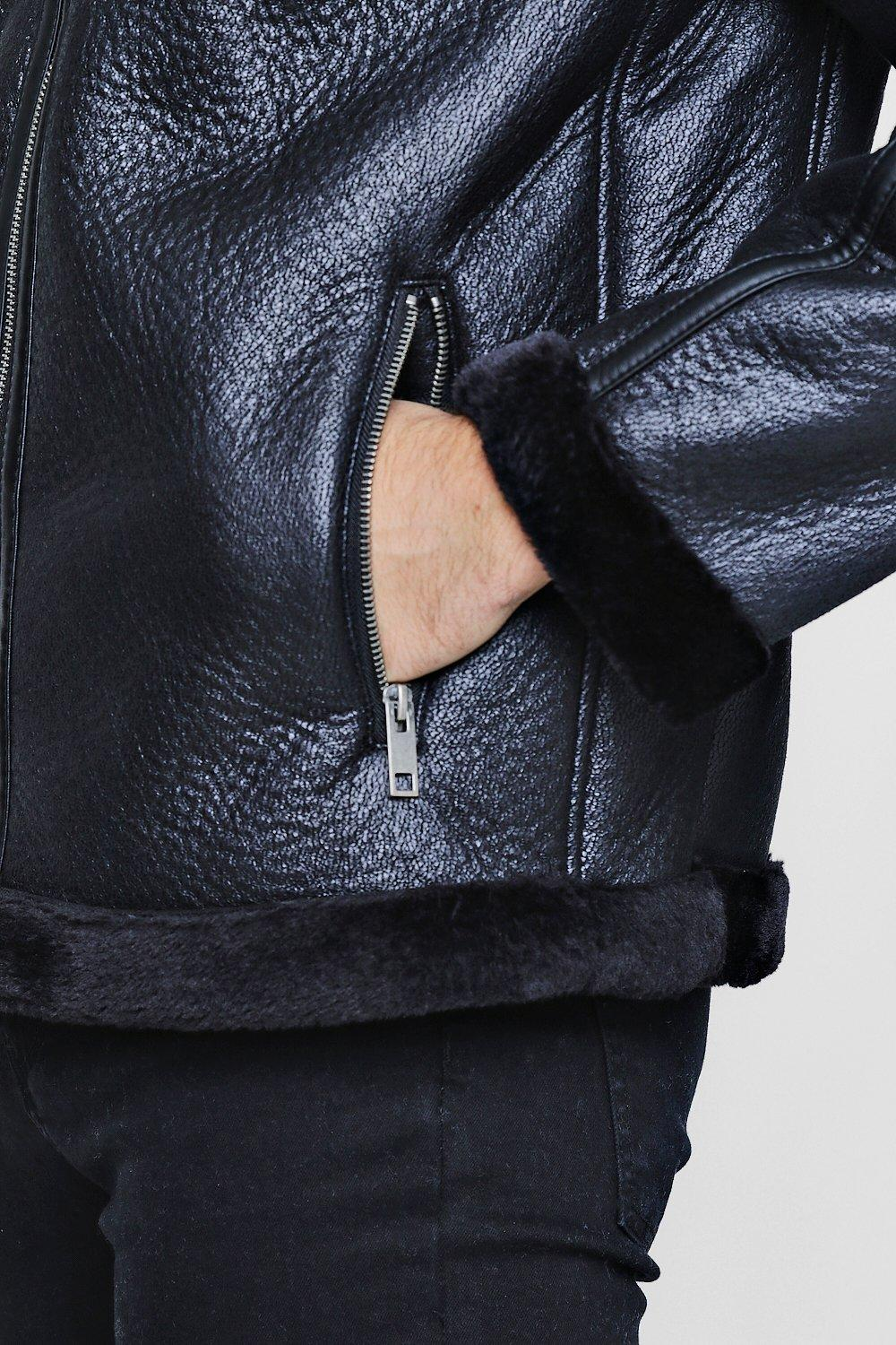 AIR BORN LEATHER JACKET