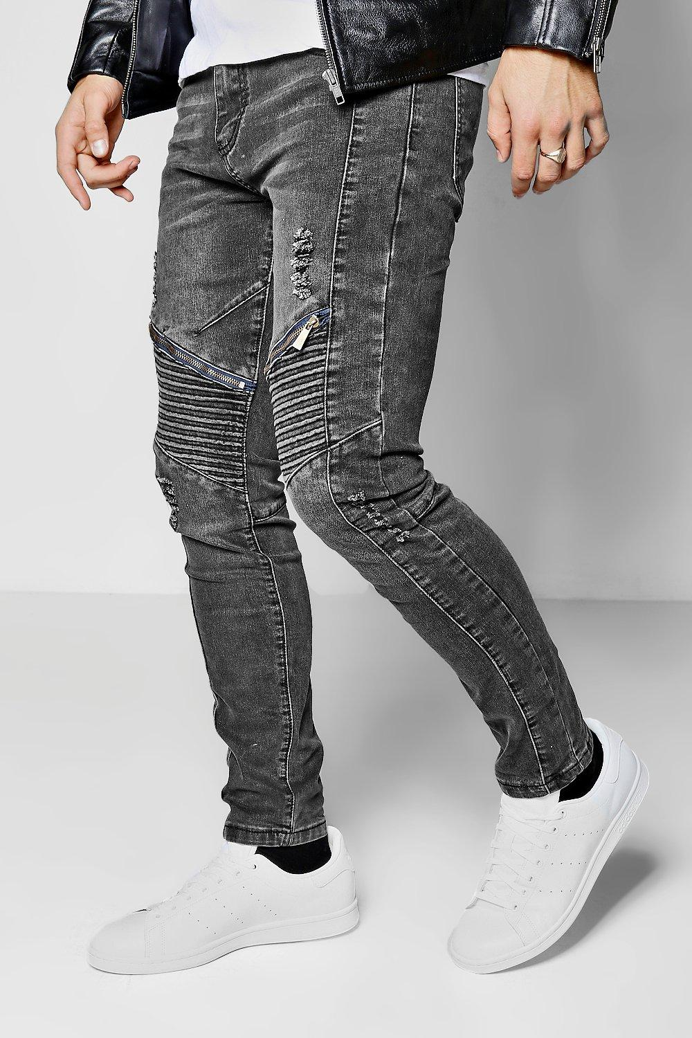 COAL BIKER DENIM