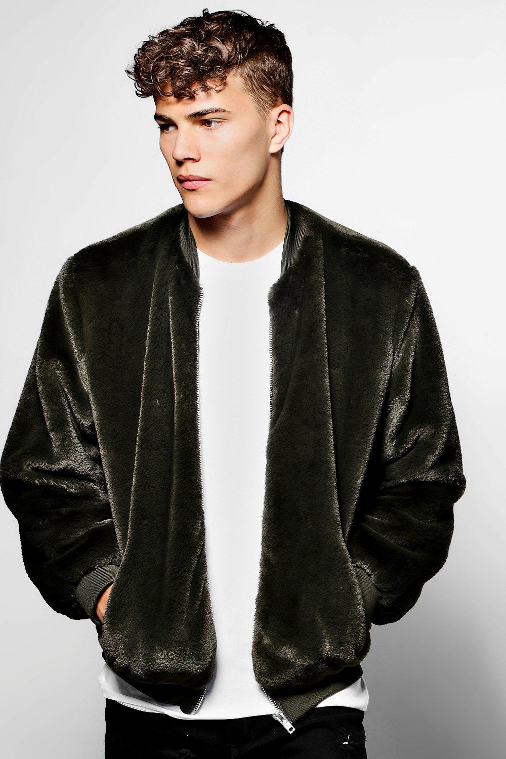ALL FAUX BOMBER JACKET