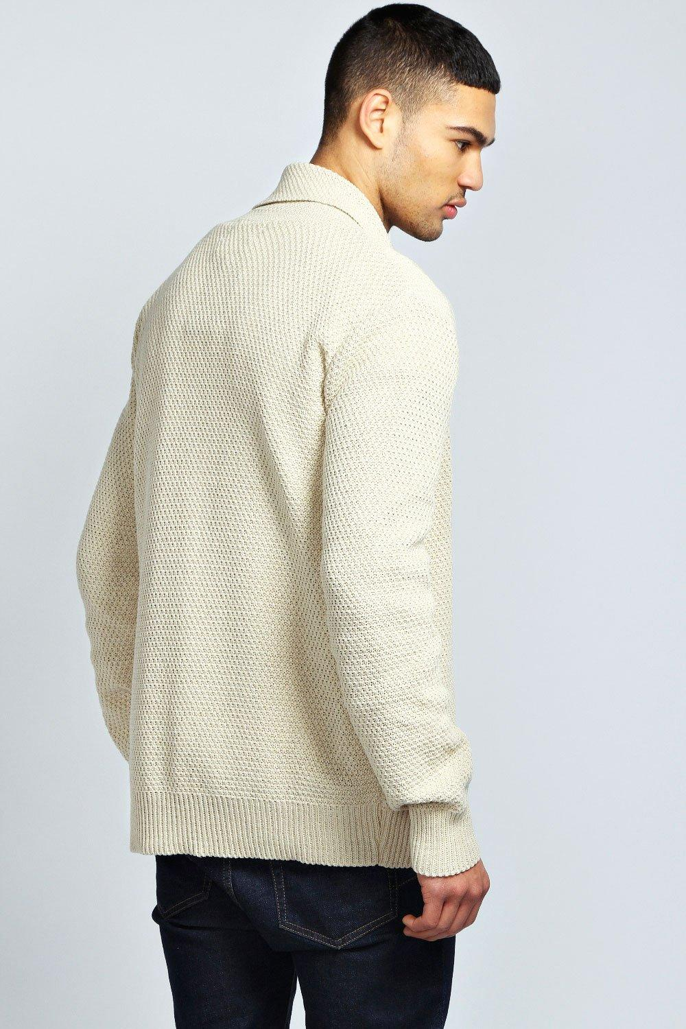 HONEY COMB CARDIGAN