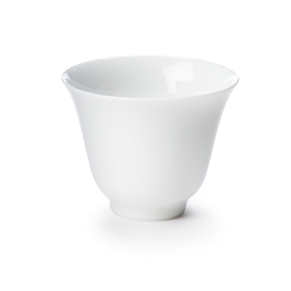 Mini White Porcelain Handmade Sipping Cup Set of 6