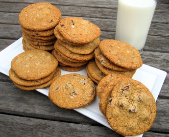 Sweet & Salty Cookies: Salted Chocolate Chip