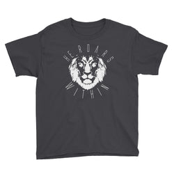 He Roars Within Youth Short Sleeve T-Shirt
