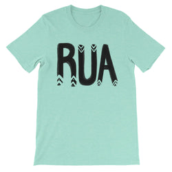 Rua Unisex short sleeve t-shirt