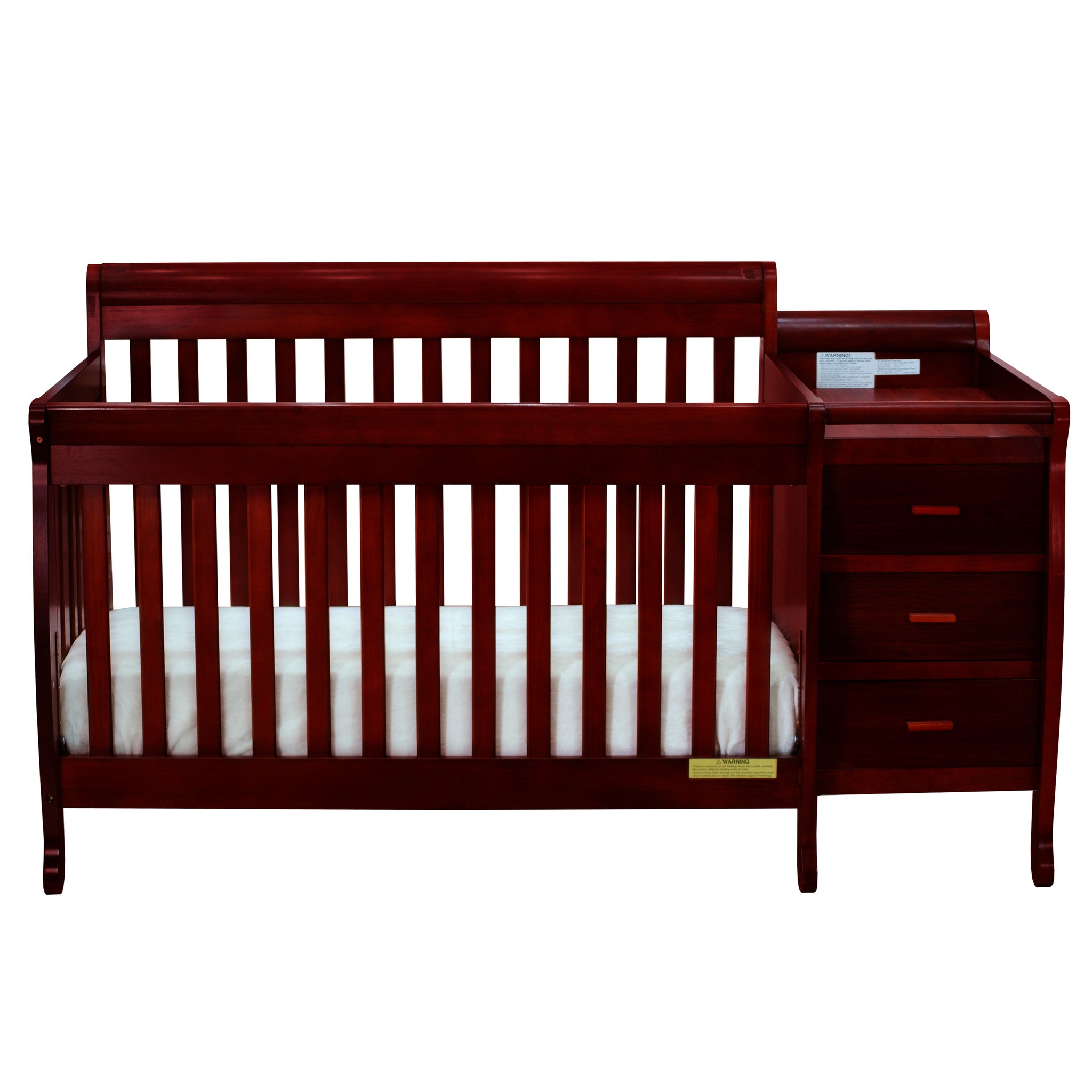 AFG Baby Kimberly 3 in 1 Convertible Crib and Changer – Aiden & Blake