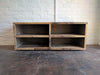 Reclaimed Wood Four Corners TV Media Storage Console - Kase Custom