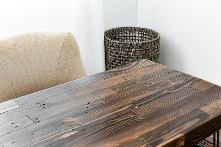 Reclaimed Wood Desk - Kase Custom