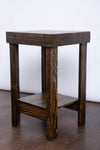 Reclaimed Wood Side Table - Kase Custom
