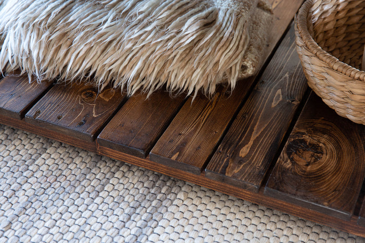 Reclaimed Wood Coffee Table - Kase Custom
