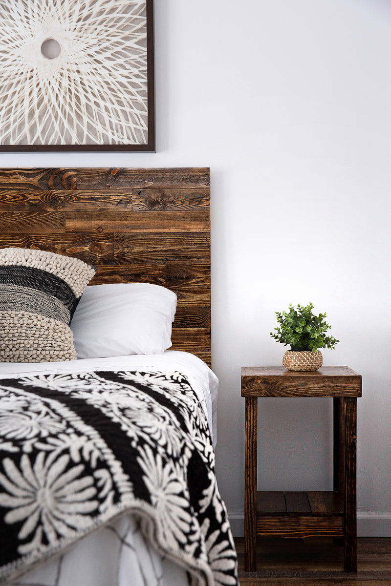 Provincial Reclaimed Wood Nightstand