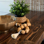 Reclaimed Wood Restaurant Pedestal Tables - Kase Custom