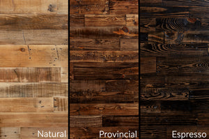 Reclaimed Wood Finish Examples