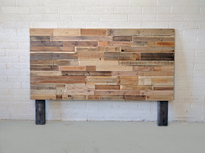 Reclaimed Wood Headboard - Kase Custom