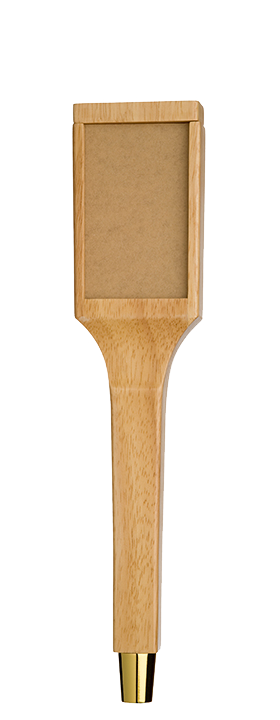 Tall Natural Changeable Tap Handle