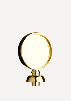 Gold Disc Finial